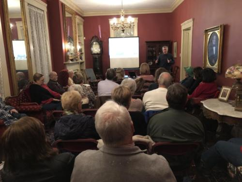 Friends Lecture Series March 2019: Mark Leach Presenting the Great Pyramids of St. Louis